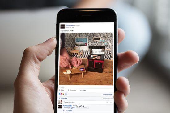 Aprovechar en marketing el facebook live
